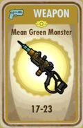 FoS Mean Green Monster Card