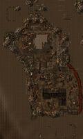 South Vegas ruins map