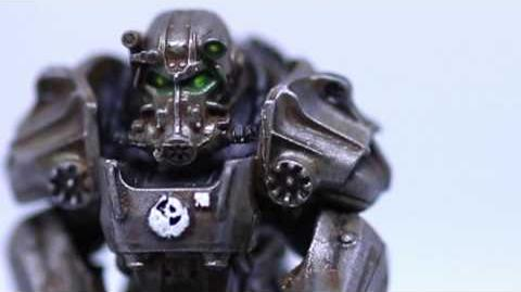 Fallout Wasteland Warfare - Painted Miniatures Preview