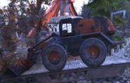 FO76 Bucket loader vehicle 1