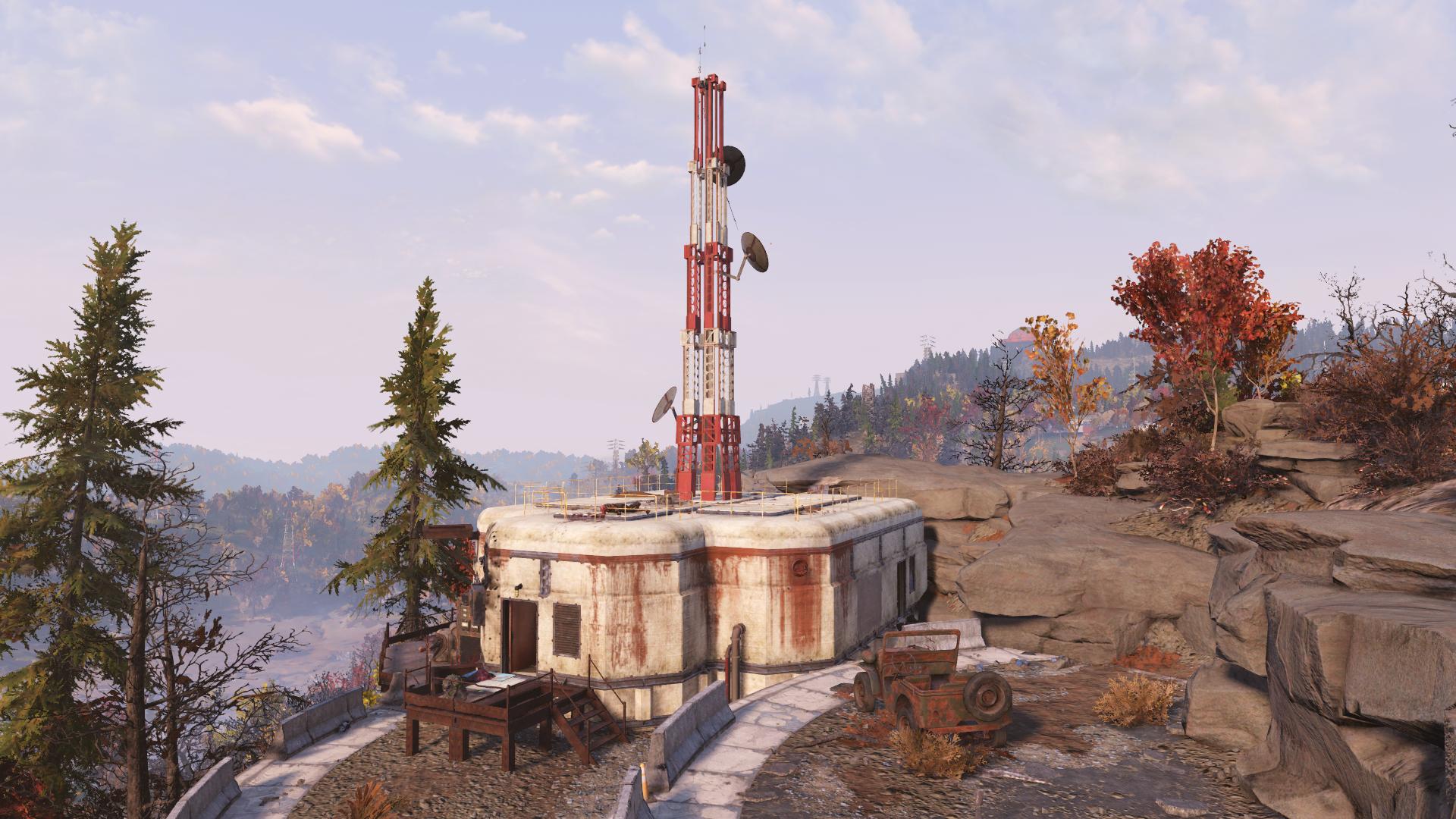 Relay tower DP-B5-21