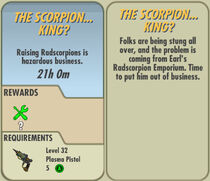 FoS The Scorpion... King? card