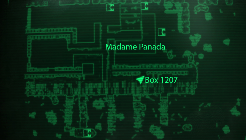 Box 1207 - Spy's audio password