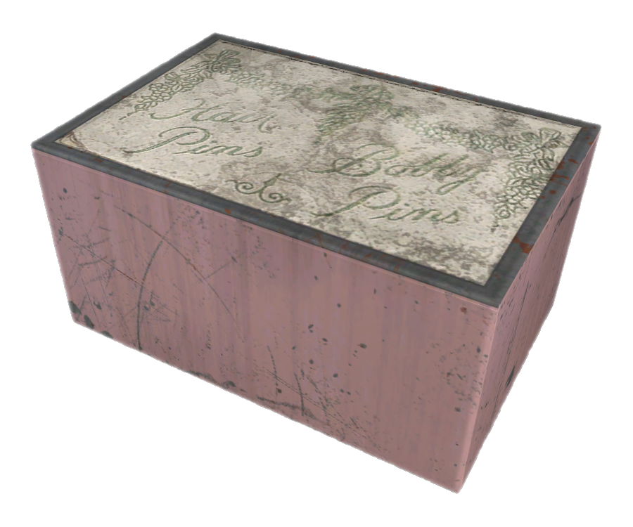 Коробка со шпильками