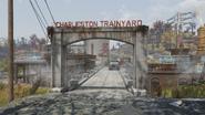 FO76 Charleston trainyard (entrance)