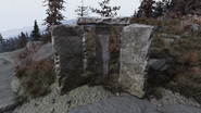 FO76 Mysterious guidestones eastern face