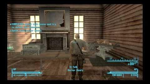 Fallout New Vegas - Oh, Baby! & side quest 'Guess Who I Saw Today'