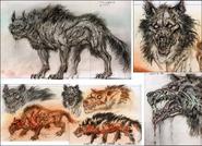 Fo3 Wastewolf concept art
