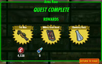 FoS Arms Race rewards