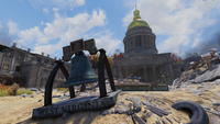 FO76 Charleston Capitol Building (Bell Stands)