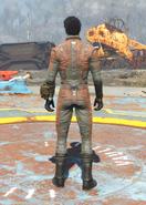 BOS Uniform Orange, Back View (Male)