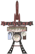 FO76 Red Rocket Mega Stop sign