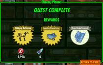 FoS Cheese, Please! rewards