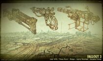 Art of Fallout 3 weapons CA1