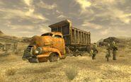 FNV gypsum train yard truck