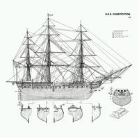 FO4 USS Constitution schematics