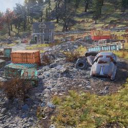 峽谷垃圾場