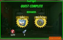 FoS Food Fight! rewards