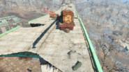 FO4 44pistol above Lonely Chapel