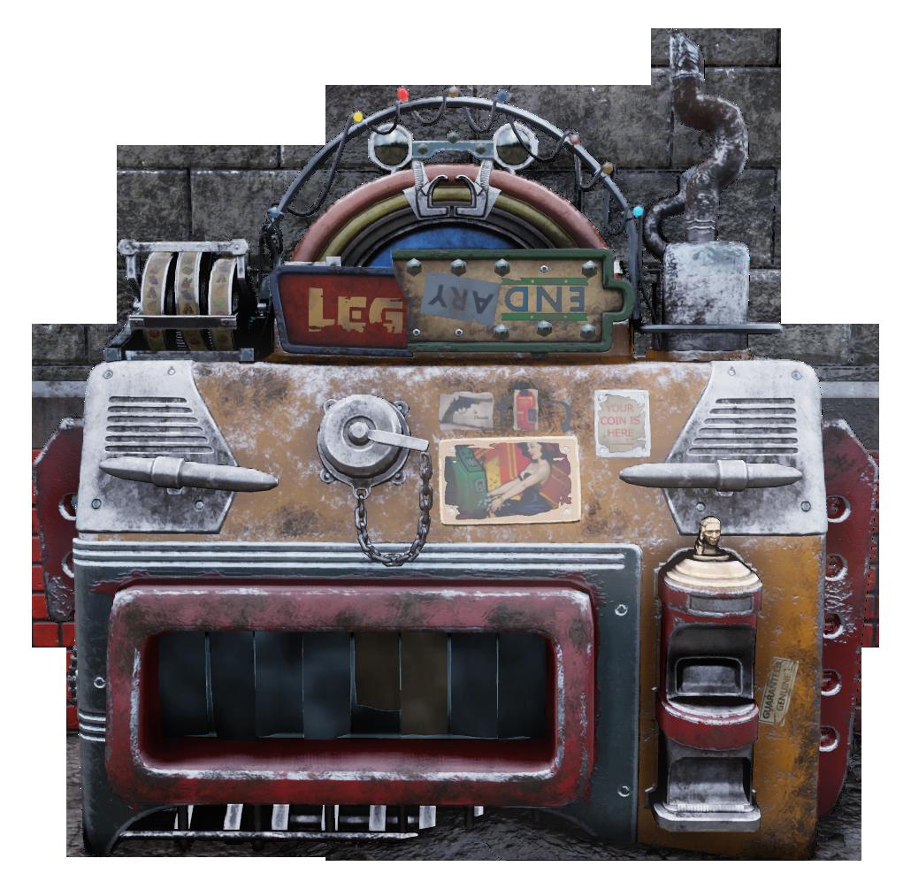 Legendary exchange machine