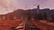 FO76 Railway Toward Savage Divide
