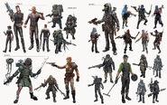 Fo4 raider armor concept art
