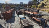 Fo76 Morgantown trainyard (3)