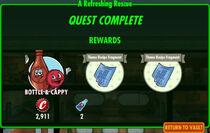 FoS A Refreshing Rescue rewards
