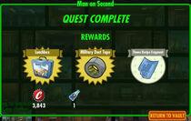 FoS Man on Second rewards