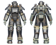 FO4CC T-45 power armor onyx