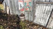 FO76 Helvetia Honey house Honey (Haus key Under a flower pot)