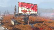 Fo76 Nuka Cola Cranberry billboard