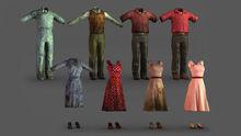 PreWar outfit concept art