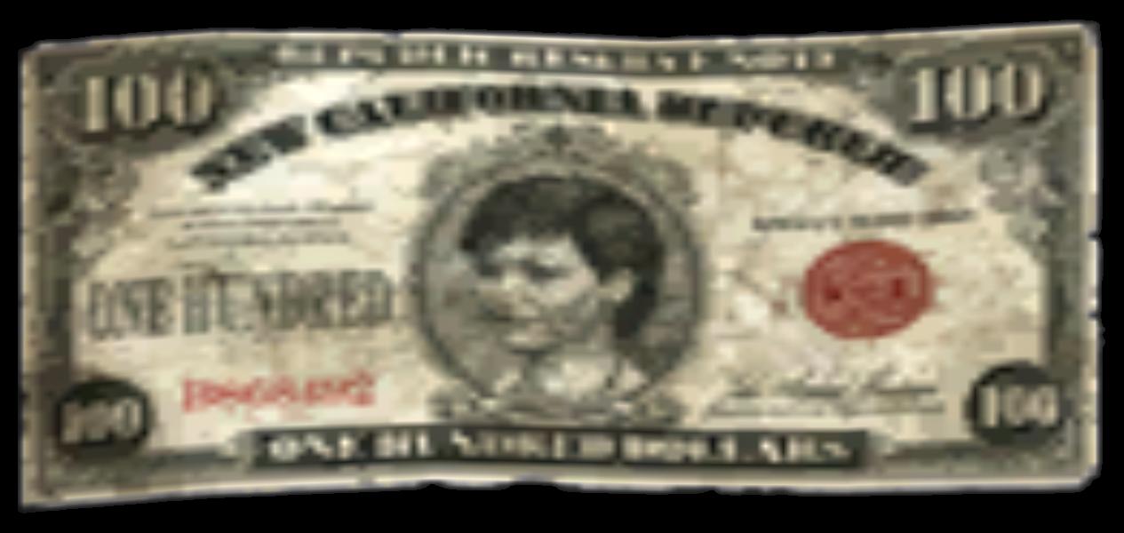 100 долларов НКР
