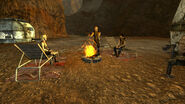 FNV RedRockChemLab gatherings around the campfire