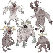 FO76 Chris Ortega concept (The SheepSquatch Monster) (10)