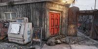 FO76 The Rusty Pick (bar entrance)