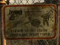 FoNV Warning Sign