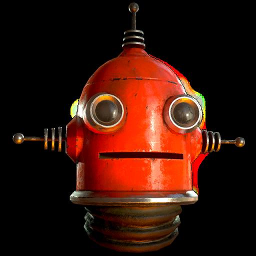 Red Rocket robot helmet