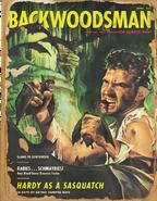 Backwoodsman Hardy as a Sasquatch