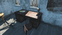 FO4 Croup Manor desk