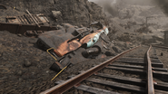 FO76 191020 Welch locomotive