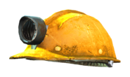 Fo4 mining helmet yellow green