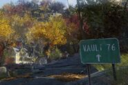Fo76 Road sign front