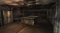 Mess hall & munitions storage kitchen