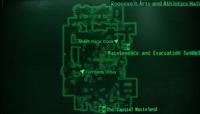 Roosevelt Academy AAHall map