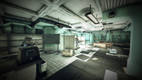 Whitespring bunker medical bay