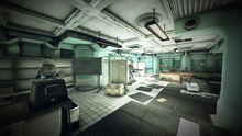 Whitespring bunker medical bay