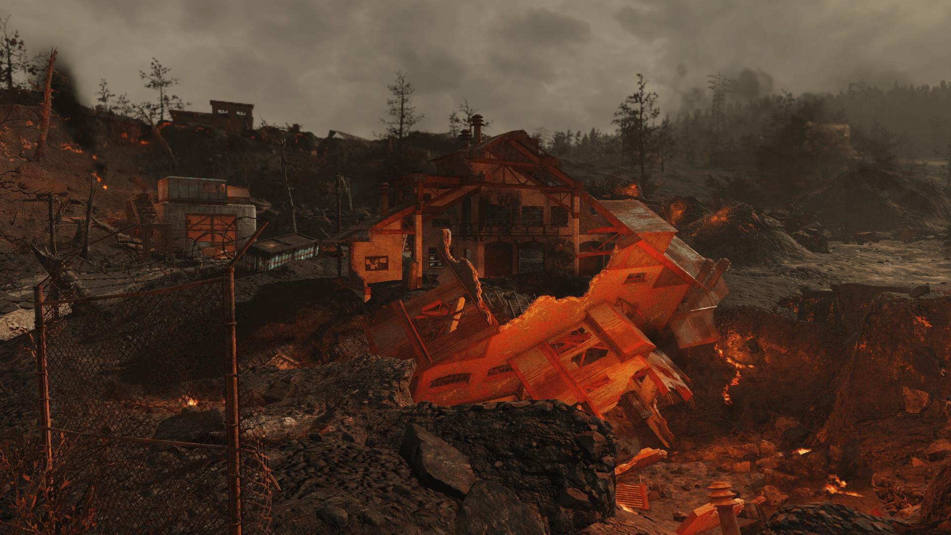 The Burning Mine