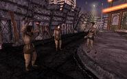 FNV female troopers dancing